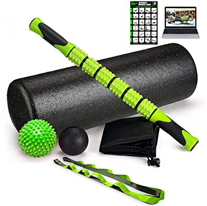 Amazon.com: Fitness Kings - Juego de rodillo de espuma de ...