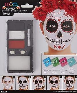 Amakando Pintura Sugar Skull Maquillaje máscara Calavera Mexicana ...