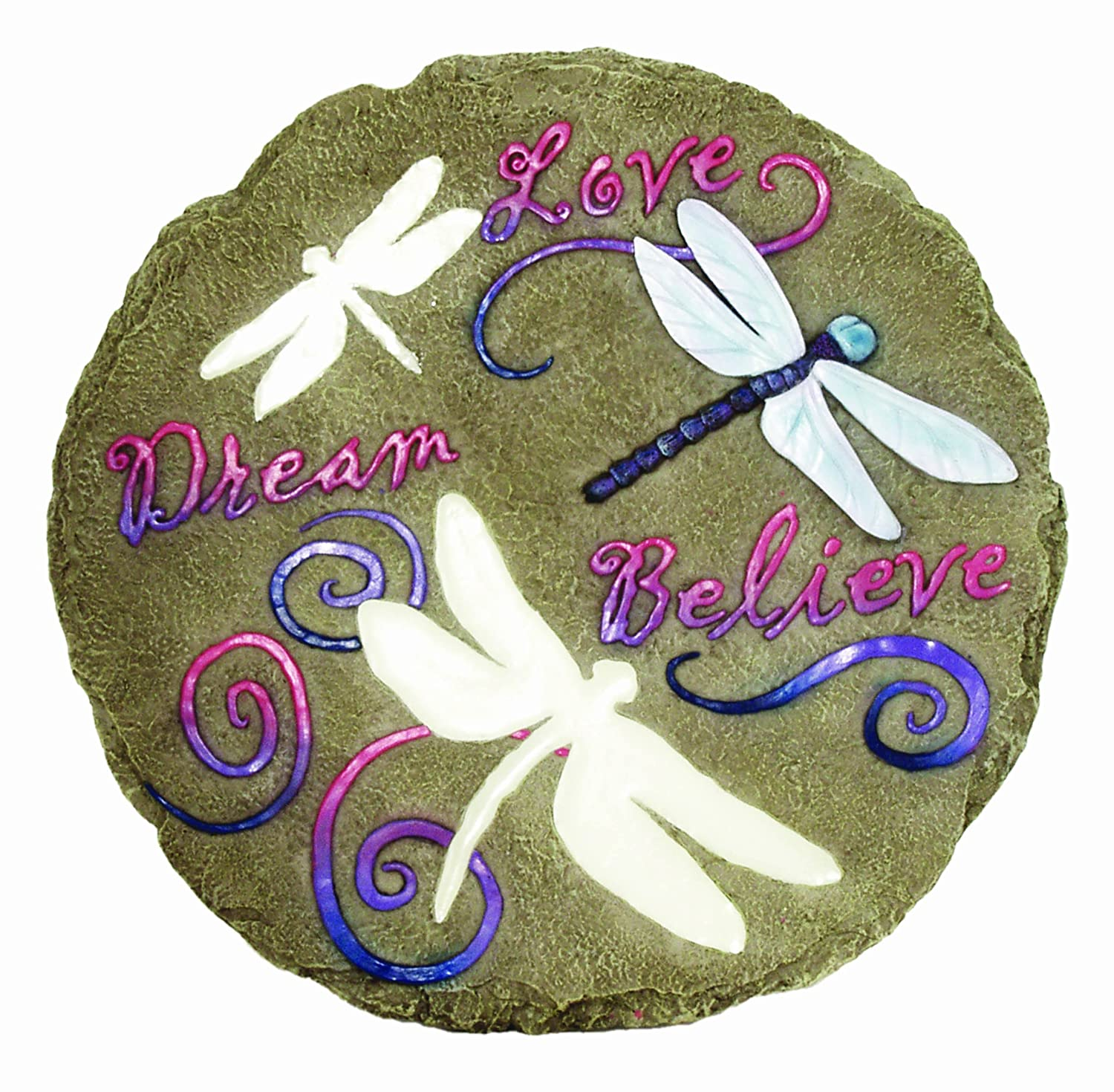 Exceptional Amazon.com : Spoontiques Dragonfly Glow Stepping Stone : Outdoor Decorative  Stones : Garden U0026 Outdoor