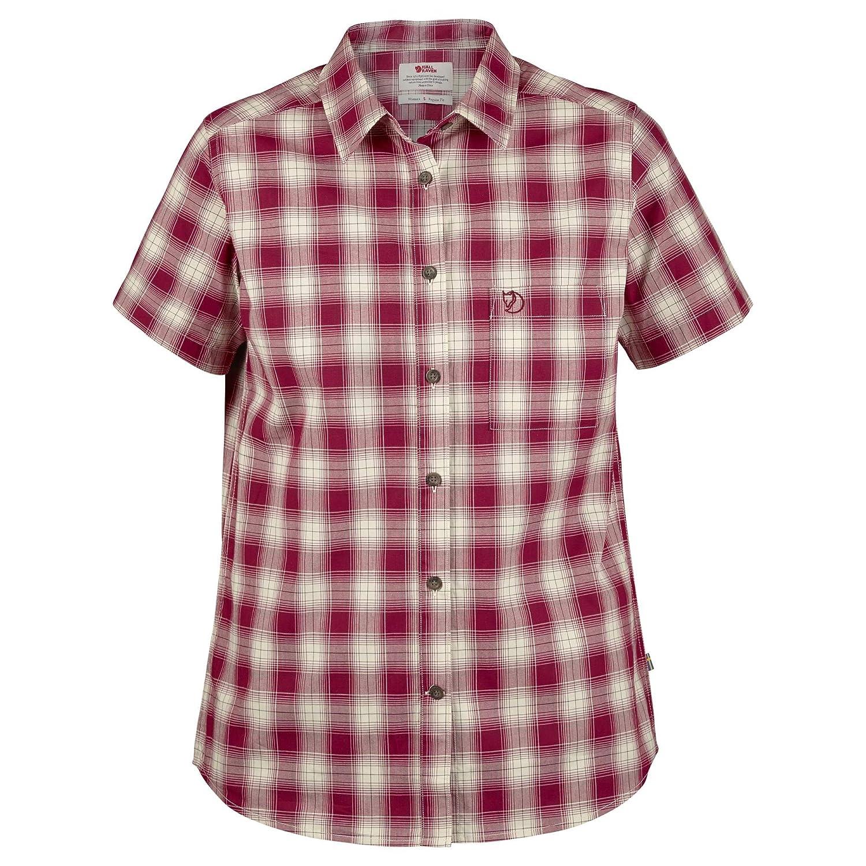 Fjällräven Damen Övik Check Shirt Ss W Blusen & T-Shirts
