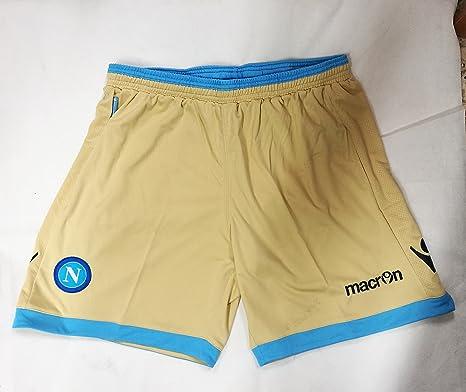 Macron Napoli - Pantalón de chándal (Talla XXL), Color Dorado ...