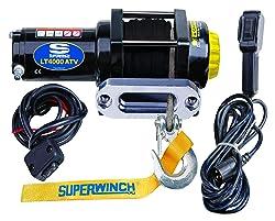 Superwinch (1140230) Black 12 VDC LT4000ATV SR Winch