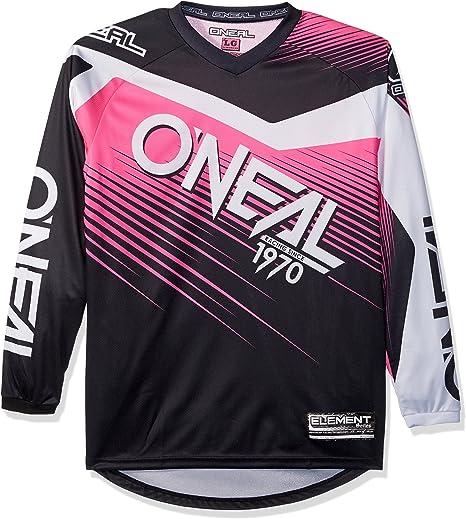 O Neal Element Racewear Damen Fr Jersey Trikot Lang Schwarz Pink 2018 Oneal Größe Xl 56 58 Bekleidung