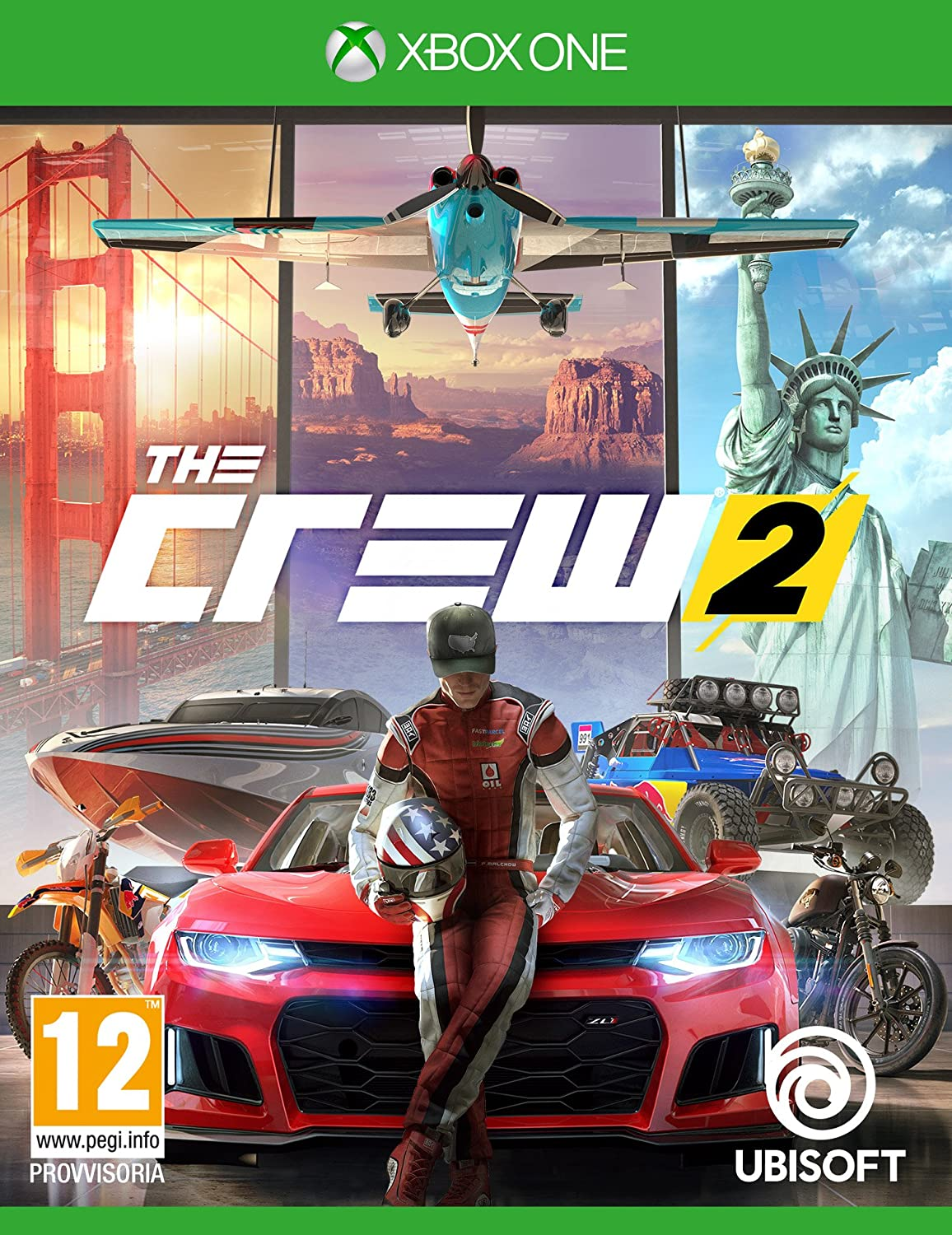 The Crew 2 - Standard - Xbox One [Importación italiana]: Amazon.es: Videojuegos