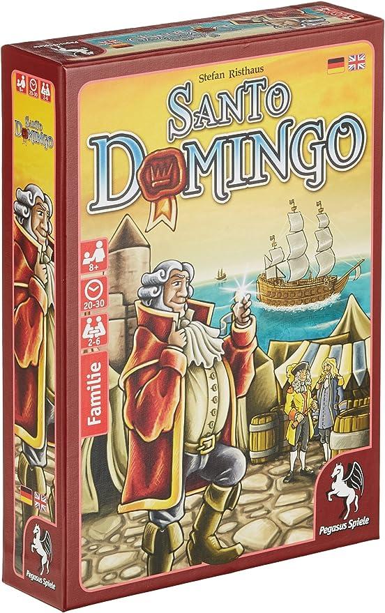 Pegasus Juegos 18145 g Santo Domingo, Juego de Cartas: Amazon.es ...