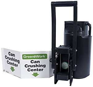 Zing Green Products ZING 7008 Industrial Can Crusher Kit