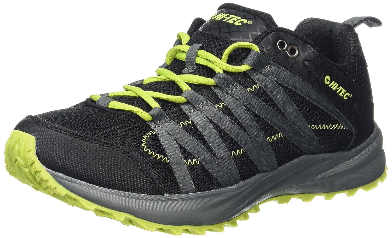 Amazon.com | Hi-Tec Sensor Trail Lite Running Shoe - SS16-14 - Black | Running