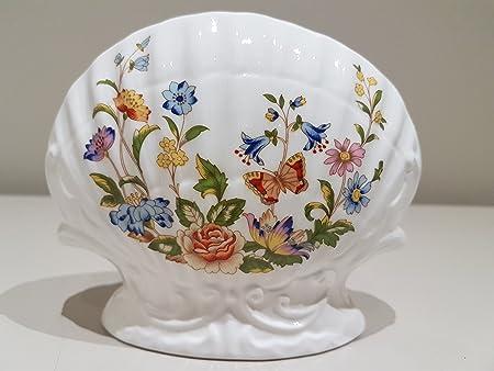 Aynsley China Cottage Garden Scalloped Posy Vase Amazon