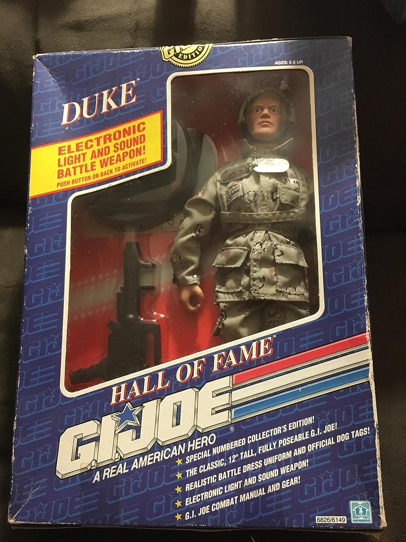 """1991 GI JOE HALL OF FAME 12/"""" Action Figure Duke Cobra Stalker Snake Eyes Hasbro"""