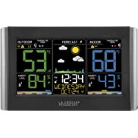 Deals on La Crosse Technology C85845 Color Wireless Forecast Station