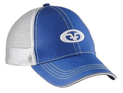 0cca9b3aca11 Flying Fisherman Gorra de camión con el logo de, Azul real/Blanco ...