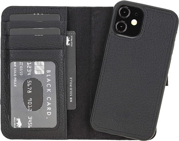 Solo Pelle Lederhülle Kompatibel Für Iphone 12 Mini In Elektronik