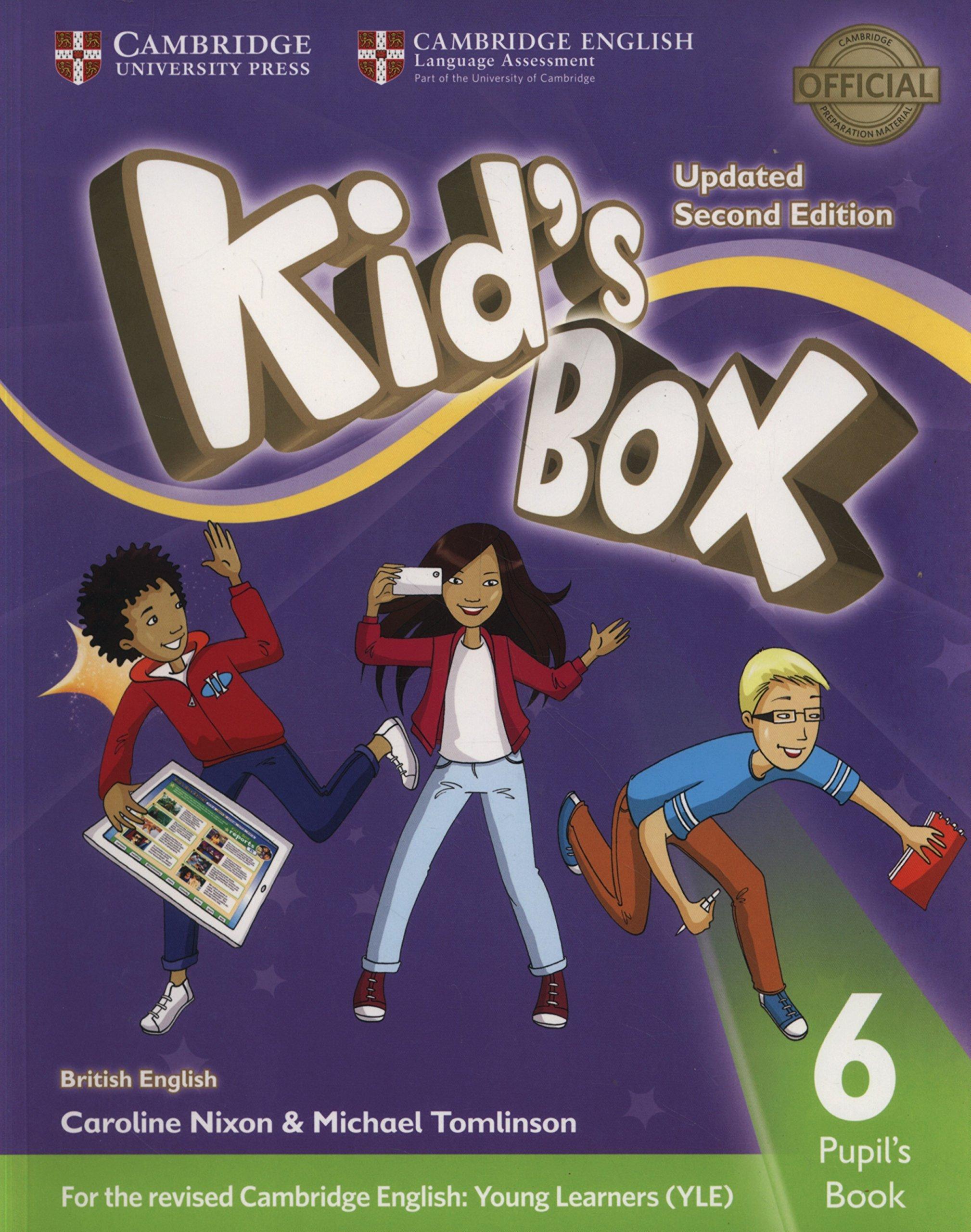 Kid's Box Updated. Level 6: Pupil's Book British English: Amazon.es:  Caroline Nixon, Michael Tomlinson: Libros en idiomas extranjeros