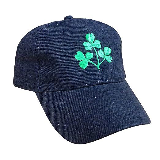 d526e4557 Amazon.com: IRISH SHAMROCK BASEBALL CAP (NAVY): Sports & Outdoors