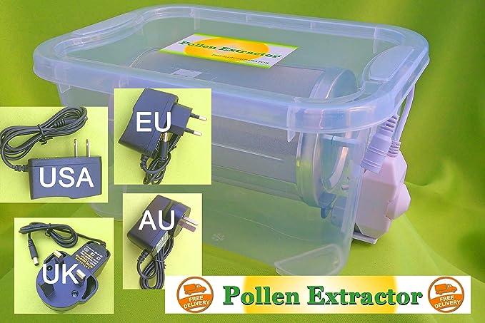 Pollinator Pollen Extractor Machine Tumbler: Amazon.co.uk: Kitchen & Home