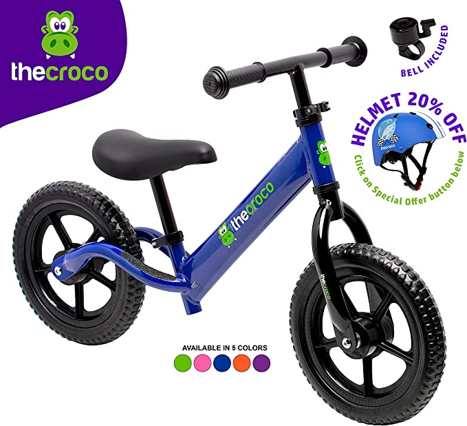 Best Toddler Bike: The Croco Lightweight Balance Bike