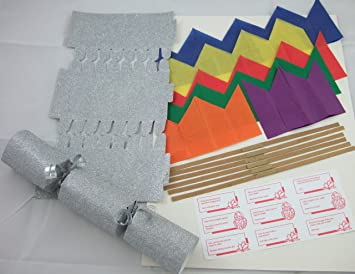 6 luxury 12 silver glitter make your own christmas crackers 6 luxury 12quot silver glitter make your own christmas crackers solutioingenieria Images