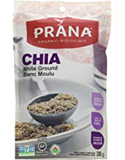 PRANA Organic Ground White Chia Seeds, 200g