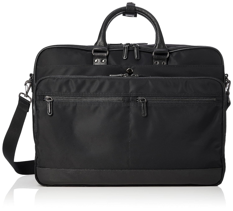 [スターツ] ビジネスバッグ LG16 B079ZF3WYS 黒革 黒革