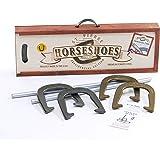 St. Pierre American Professional Horseshoe Set in Wood Case