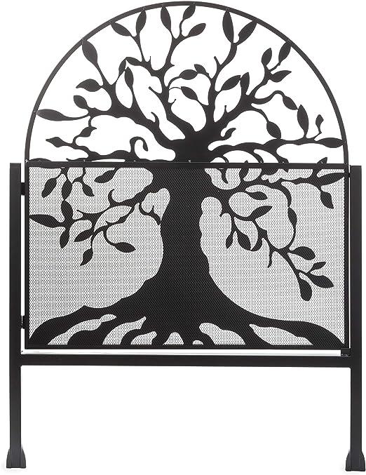Puerta de jardín de metal con diseño de árbol de la vida, 36 L x 1 .25 W x 48 H: Amazon.es: Jardín