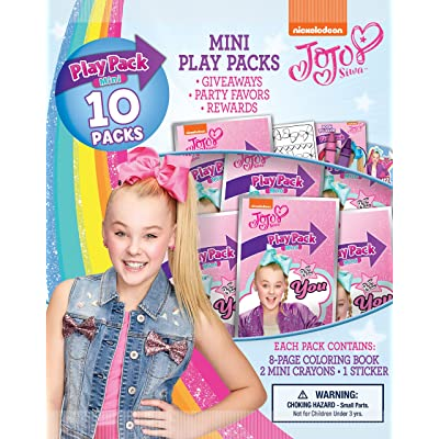 Bendon 45500 JoJo Siwa Mini Play Packs, 10-Pack: Toys & Games