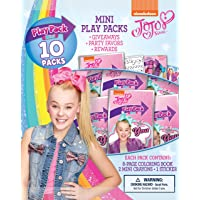 Bendon 45500 Jojo Siwa Mini Play Packs, 10-Pack