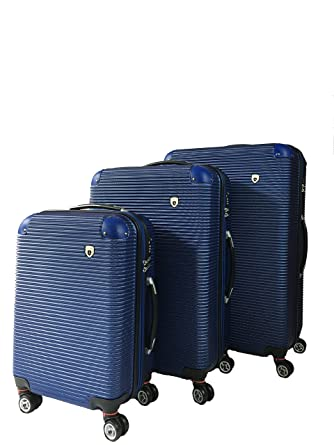 Amazon.com | Unibest Extra Durable 3 Piece Luggage Set | Luggage Sets