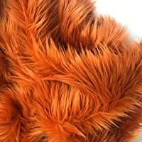 Bianna Creations Faux Fur Piece, Craft Square Rectangle Swatch, Luxury Shag Shaggy Fabric, DIY, Choose Many Sizes and…