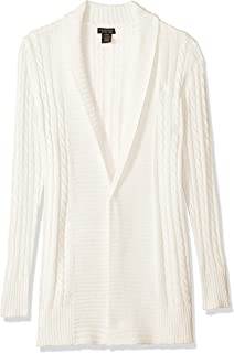 5da26e676 Amazon.com  Levi s Big Girls  Cable Knit Sweater