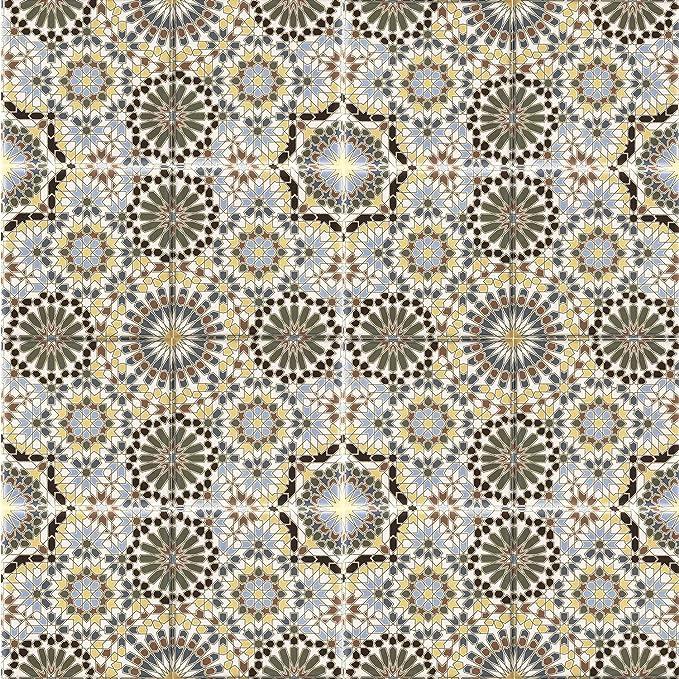 Casa Moro Orientalische Keramik-Fliesen Belal 20x20 cm 1 qm Feinsteinzeug mit Zementoptik Sch/öne K/üchenr/ückwand Badezimmer FL2036 Frostsichere Bodenfliesen /& Wandfliesen im Bad /& K/üche