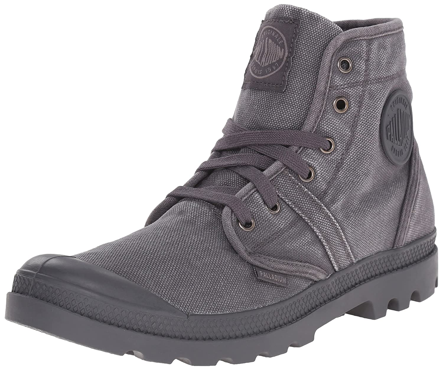 Palladium Pallabrouse, Botas Militar para Hombre, Gris (Forged Iron/Brush Nickel 084), 43 EU: Amazon.es: Zapatos y complementos