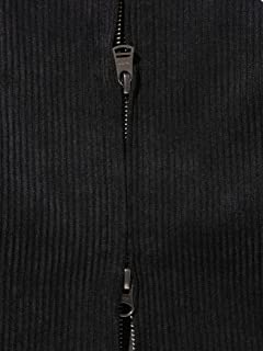Fred Perry Corduroy Harrington Jacket 11-18-5073-060: Black