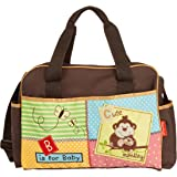 Fisher-Price Luv U Zoo Diaper Bag Brown