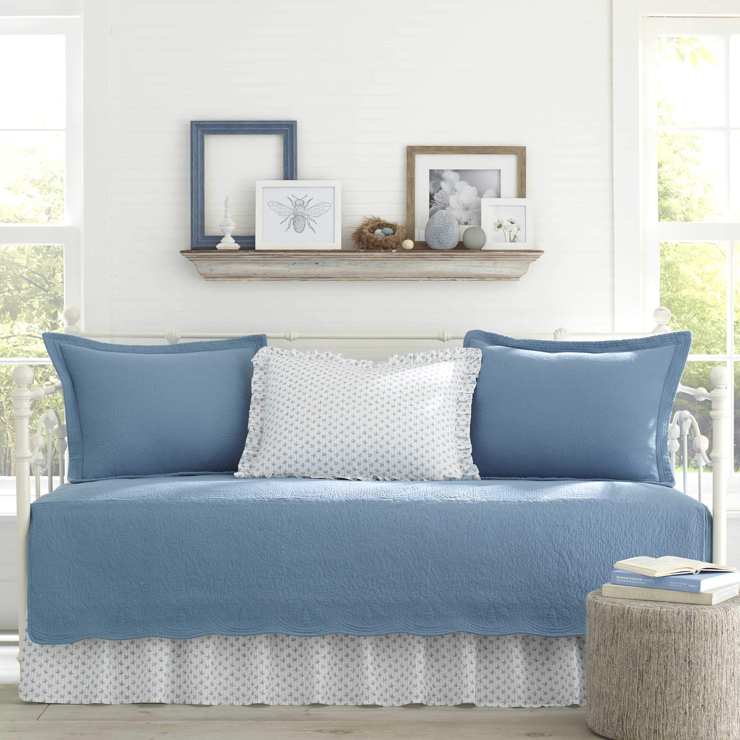 Stone Cottage Trellis Daybed Set, 39x75, Blue by Stone Cottage (Image #2)