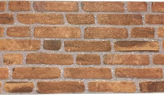 Wandverkleidung in Steinoptik aus Styropor für Küche • Terrasse •  Schlafzimmer • Wohnzimmer   Wandpaneele für mediterrane Wandgestaltung    120cm x ...