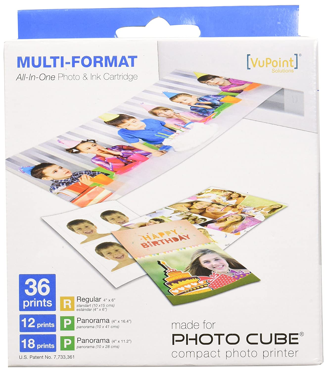 Amazoncom Vupoint Solutions Multi Format All In One Photo And Ink