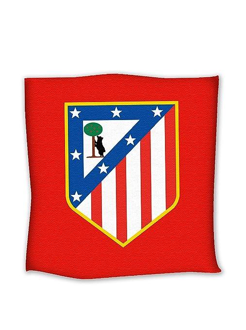 Atlético de Madrid Cojín Forofo Rojo 40 x 40: Amazon.es: Hogar