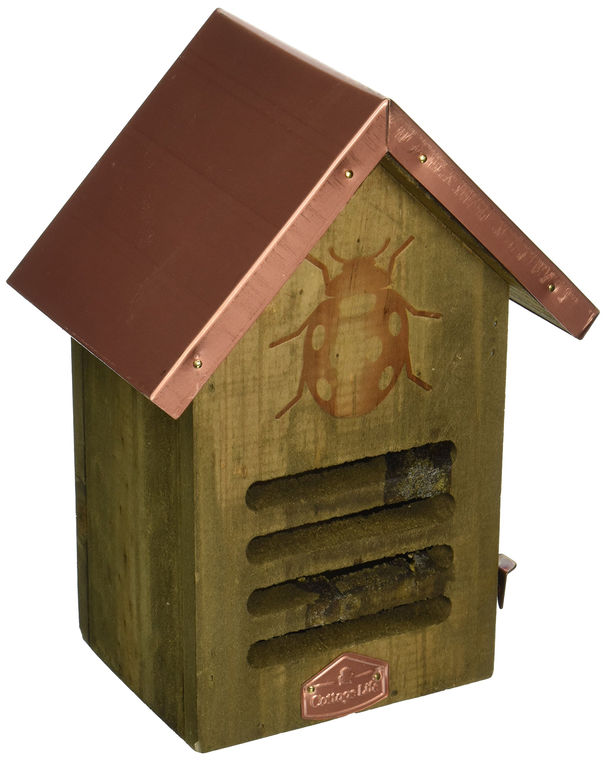 Abbott Collection Copper Roofed Ladybug House by Abbott Collection