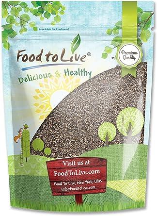 Las semillas de chía, 8 onzas - Kosher: Amazon.es: Alimentación y ...
