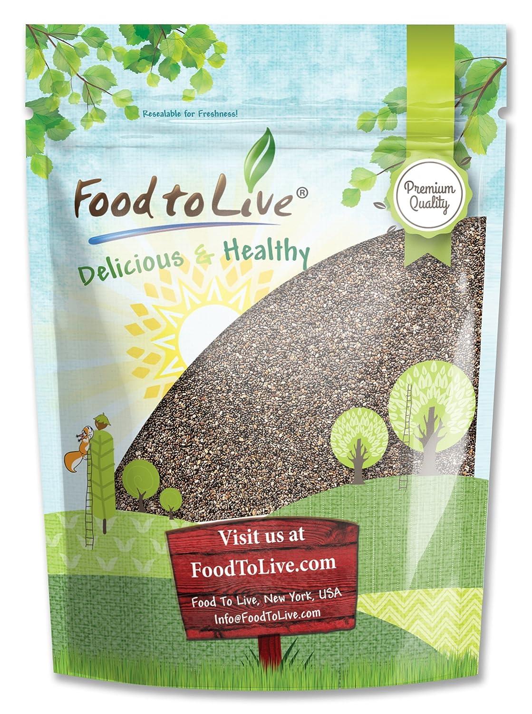Food to Live Las semillas de chía (Kosher) (8 onzas): Amazon.es: Alimentación y bebidas