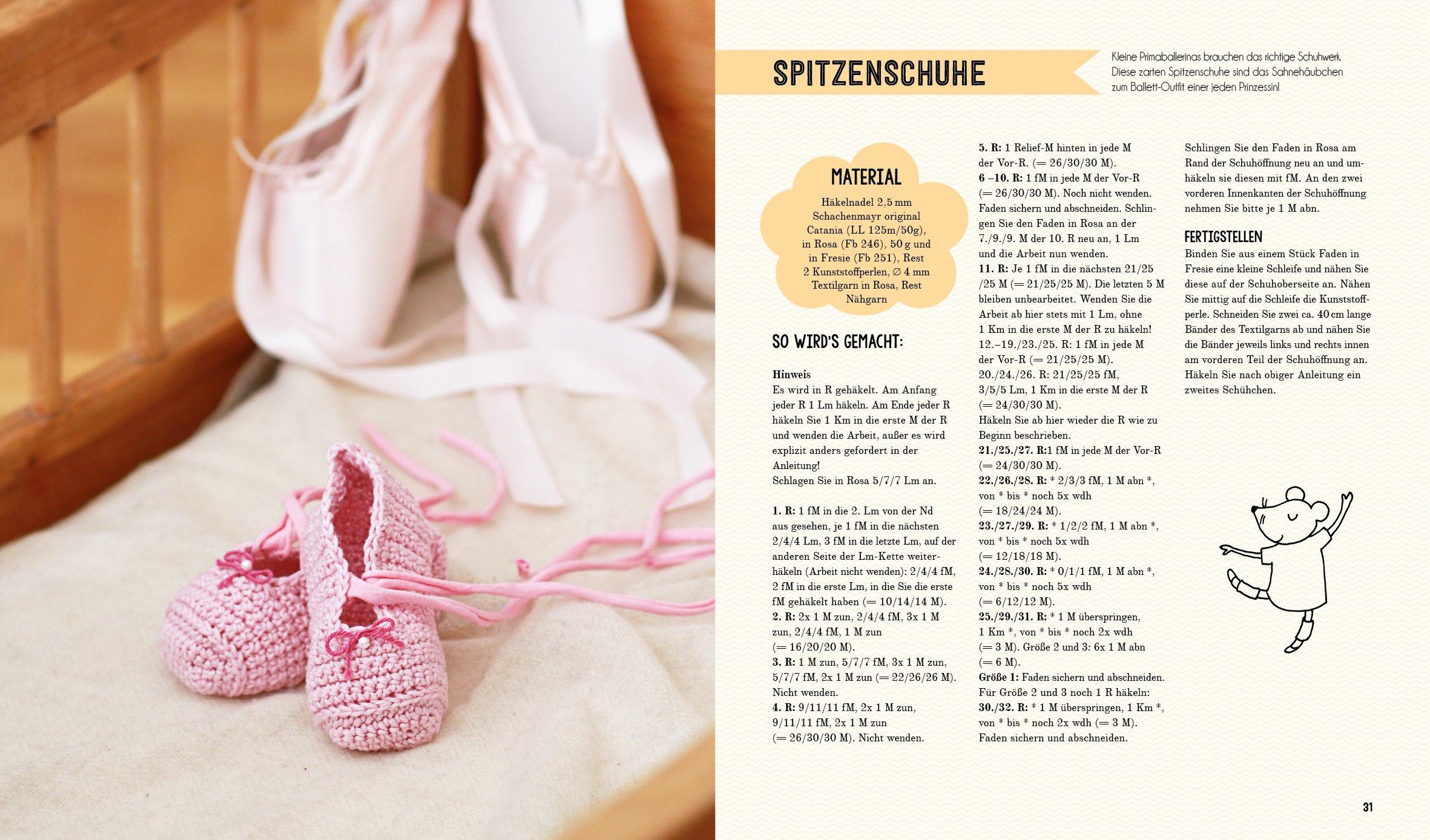 Babyschühchen-Tick: Schuhklassiker für kleine Füße häkeln: Amazon.de ...