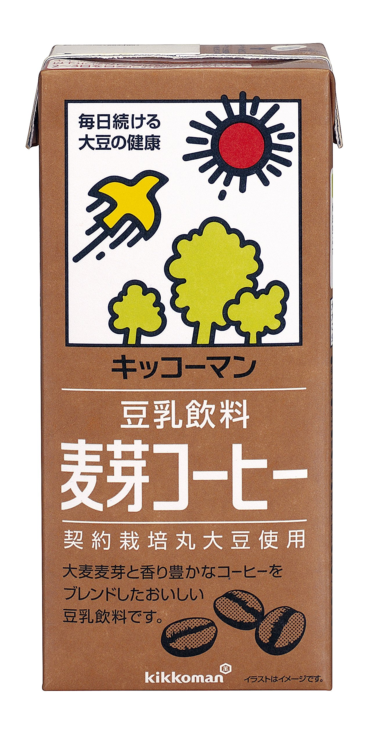 Kibun soy milk drink malt coffee 1LX6 this