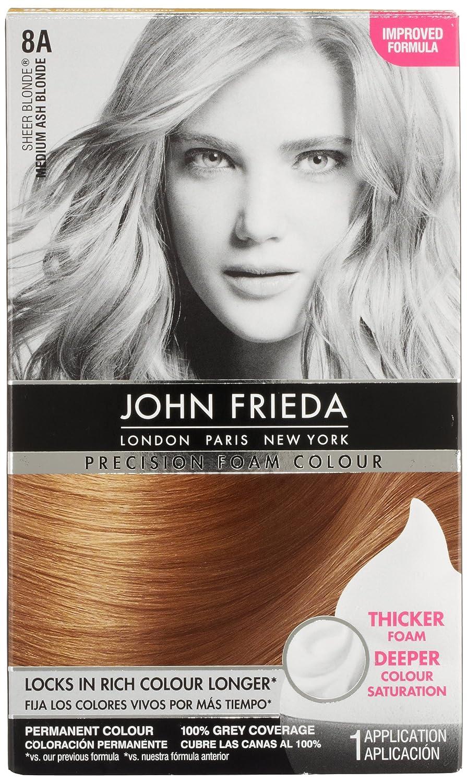 Amazon John Frieda Precision Foam Colour Medium Ash Blonde 8a