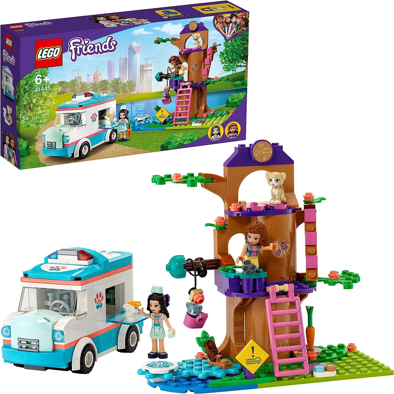 レゴ(LEGO) フレンズ どうぶつクリニックの救急車 41445