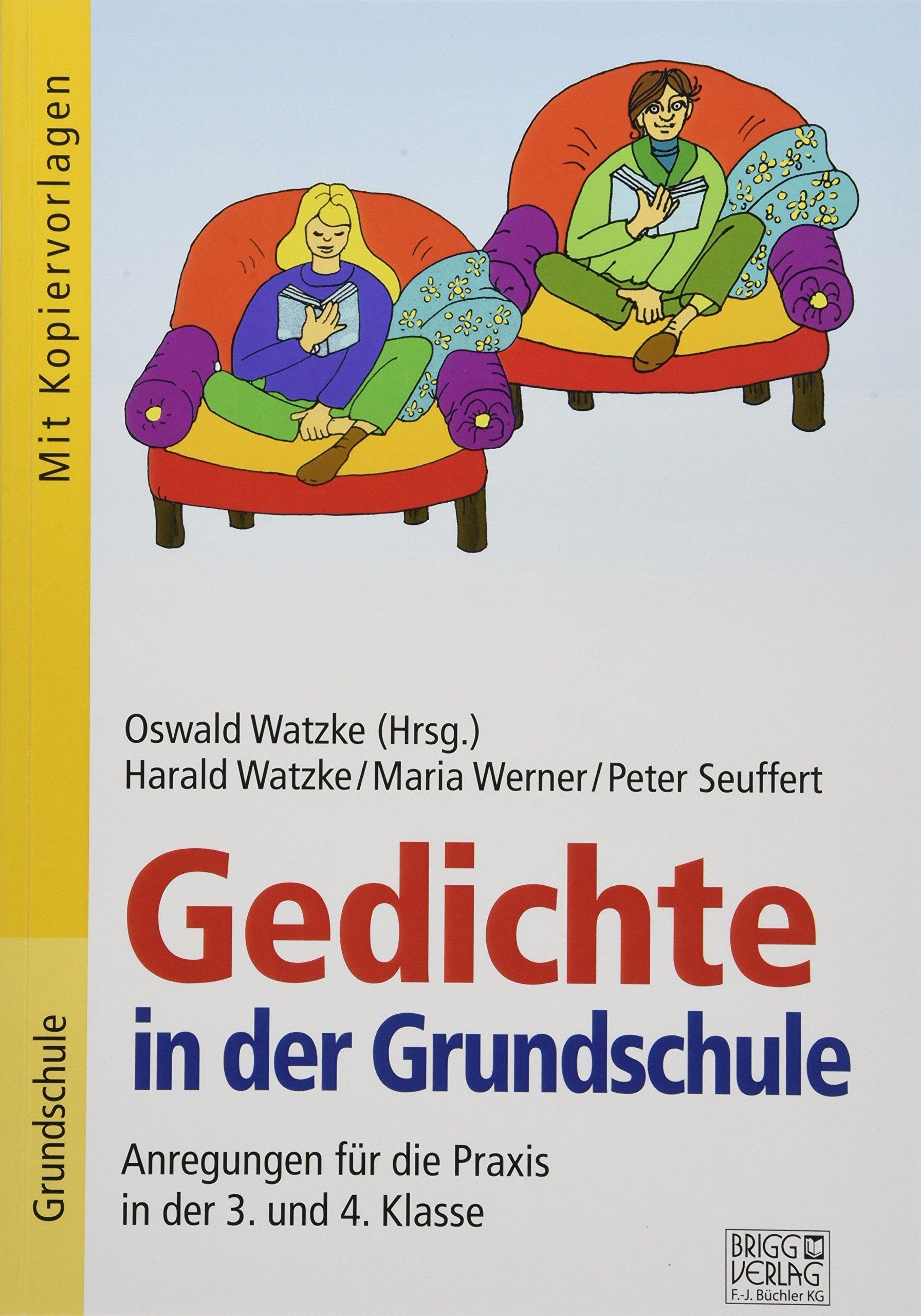 Gedichte In Der Grundschule 34 Klasse Anregungen Für Die
