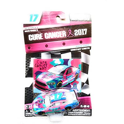 NASCAR Authentics Cure Cancer 2020 Diecast Car 1/64 Scale - 2020 Wave 5 Free Card - Collectible: Toys & Games