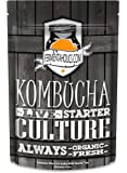 Kombucha SCOBY & Starter Tea-Live Starter Culture - Organic Raw, 9 ounces