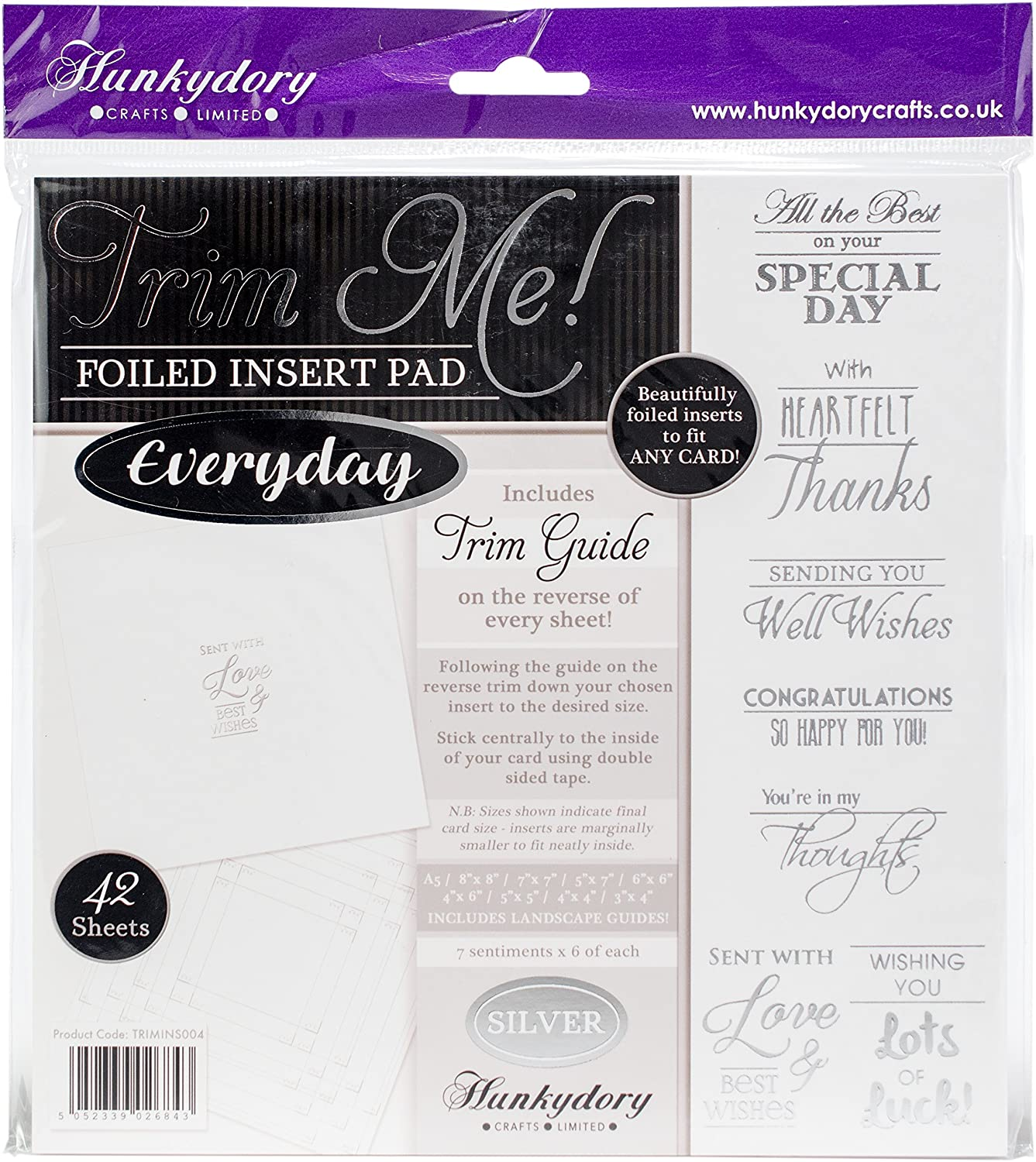 Hunkydory Crafts TRIMINS004 Craft Supplies Multi