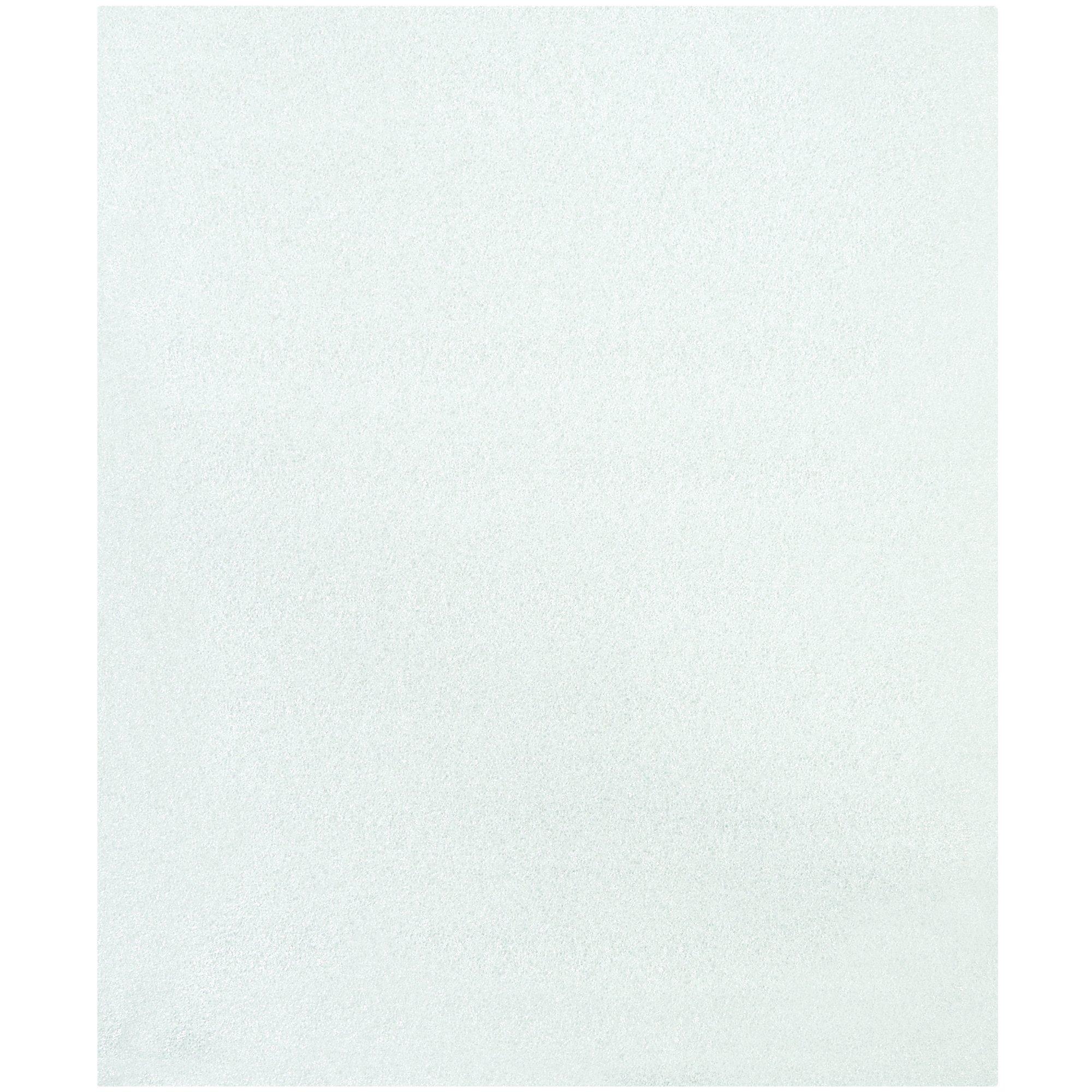 Aviditi Polyethylene Flush Cut Foam Pouch, 18'' L x 15'' W, White, Case of 75 (FP1518) by Aviditi